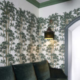 House of Hackney Wallpaper | Bambusa Wallpaper in Antquie White