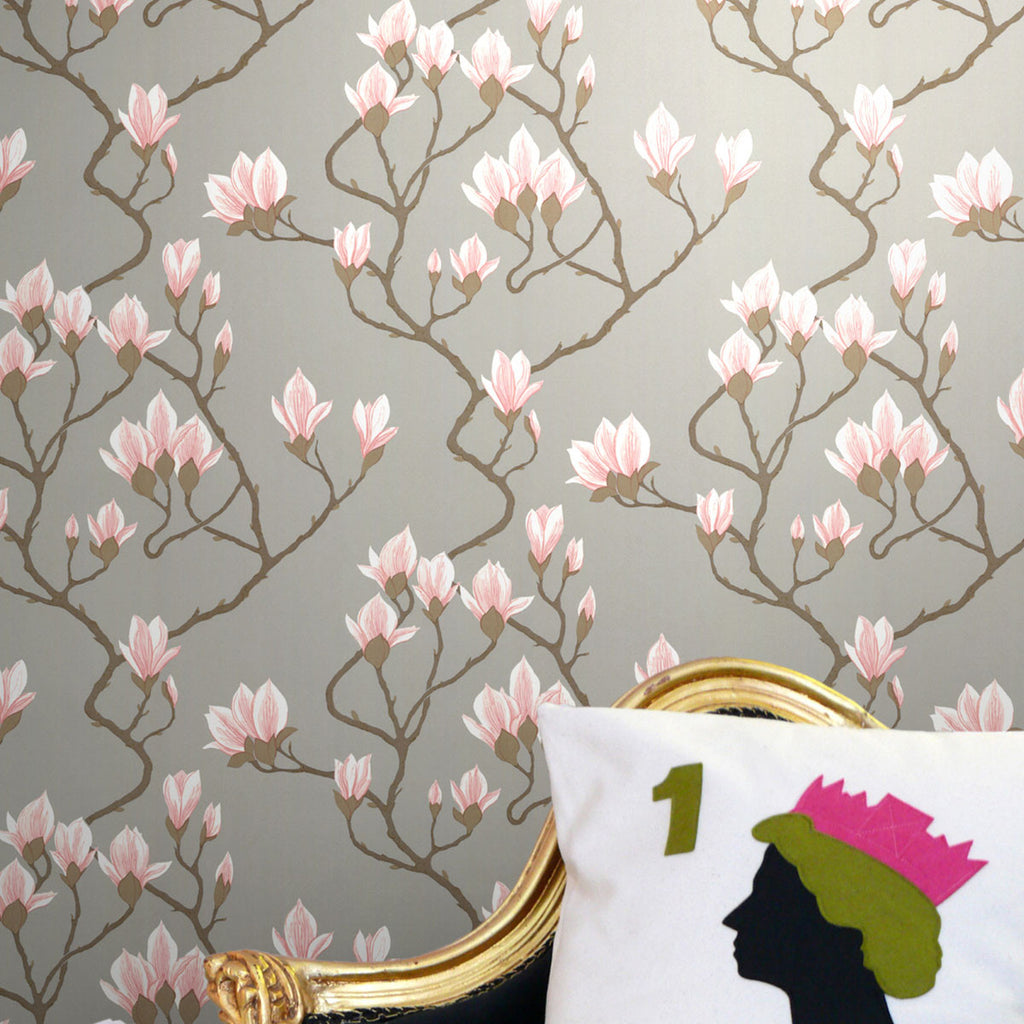 Cole & Son Magnolia Wallpaper | 72/3010