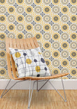 Darjeeling Wallpaper in Mustard