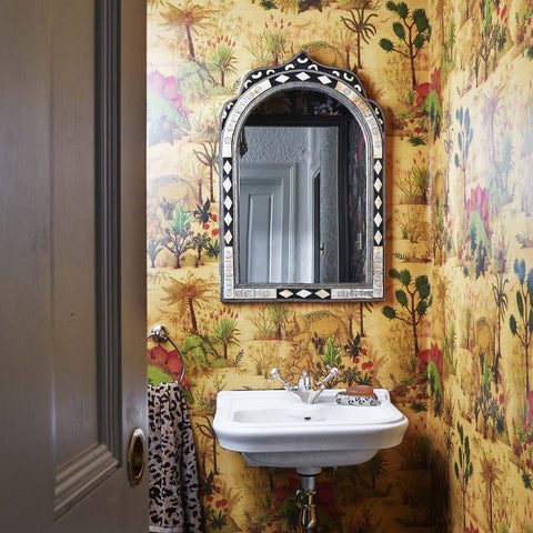 House of Hackney Wallpaper | BAMBUSA Wallpaper Azure