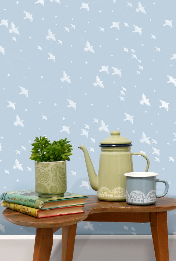 Star-ling Wallpaper by Mini Moderns