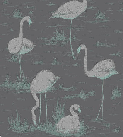 Cole & Son Flamingos Wallpaper 95/8048