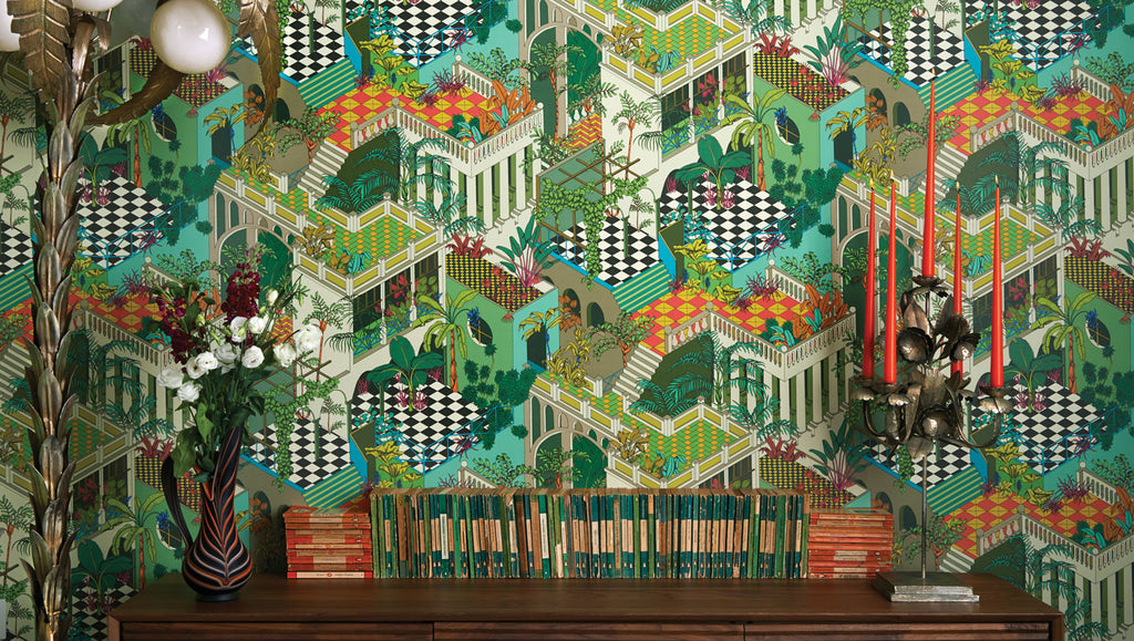 Cole & Son Wallpaper Australia  | Miami 105/4017 | Geometric 2