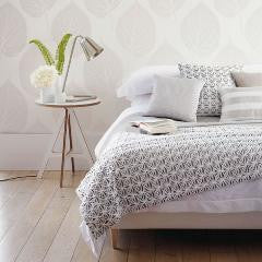 Bed Photo - Harlequin Wallpaper - Leaf 110375 - Momentum Wallcoverings Volume 2
