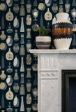 Mini Moderns Wallpaper | Vessel Midnight