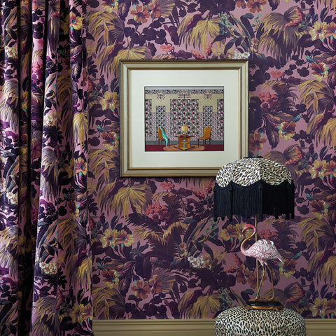 House of Hackney Wallpaper | KHASIA Midnight