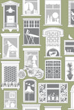 Mini Moderns Wallpaper | One Day British Lichen