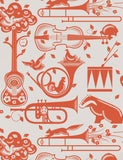 Mini Moderns Wallpaper | Pet Sounds