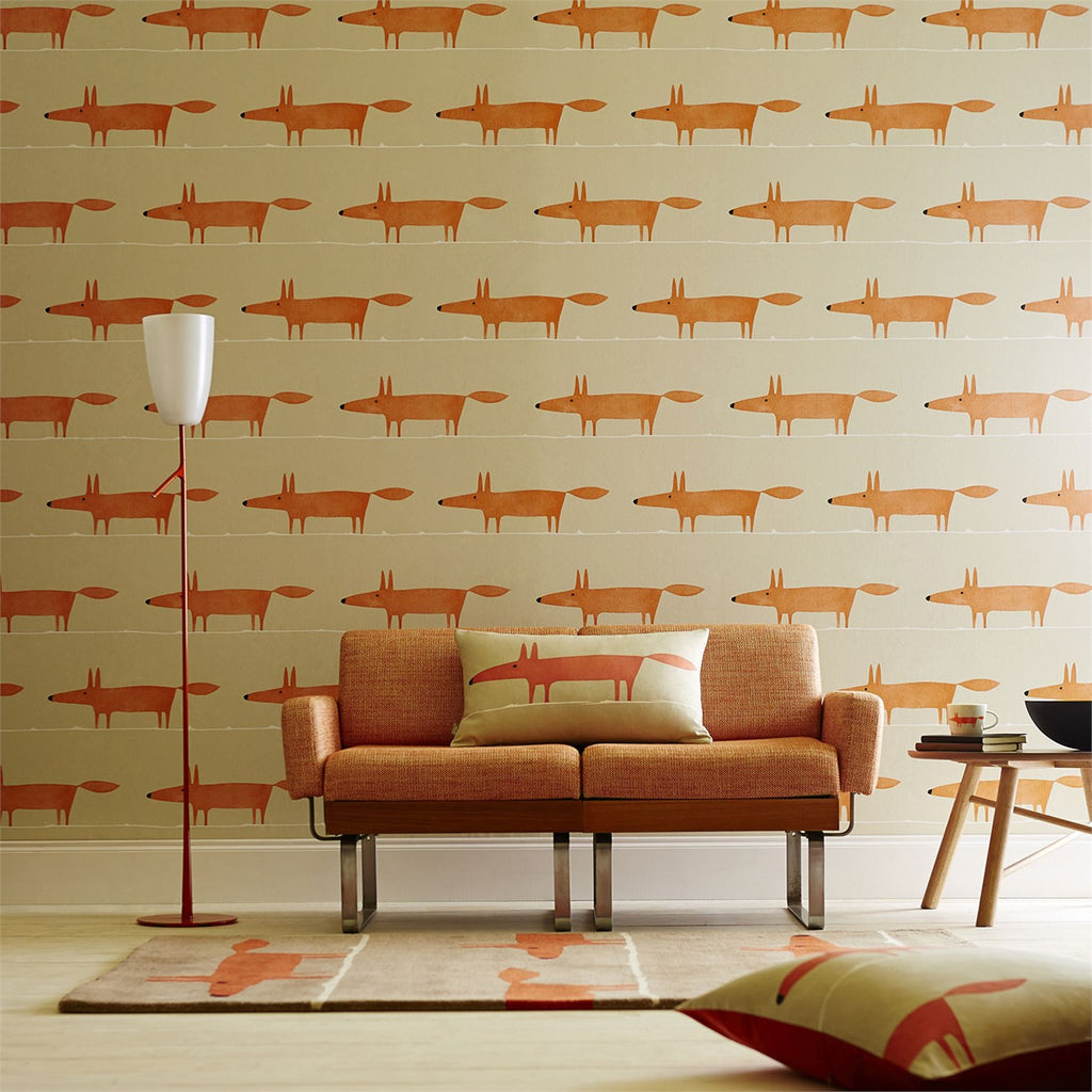 Scion Wallpaper Mr Fox 110847