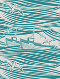 Whitby Wallpaper by Mini Moderns