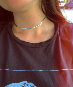 Hayden Choker in Sterling Silver