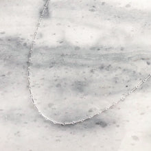 Link Choker in Sterling Silver