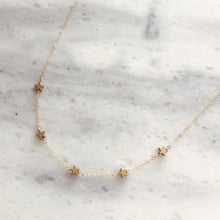 Starshine Choker in 14k Gold
