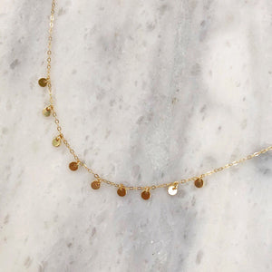 Stella Choker in 14k Gold
