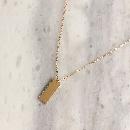 Aria Necklace in 14k Gold