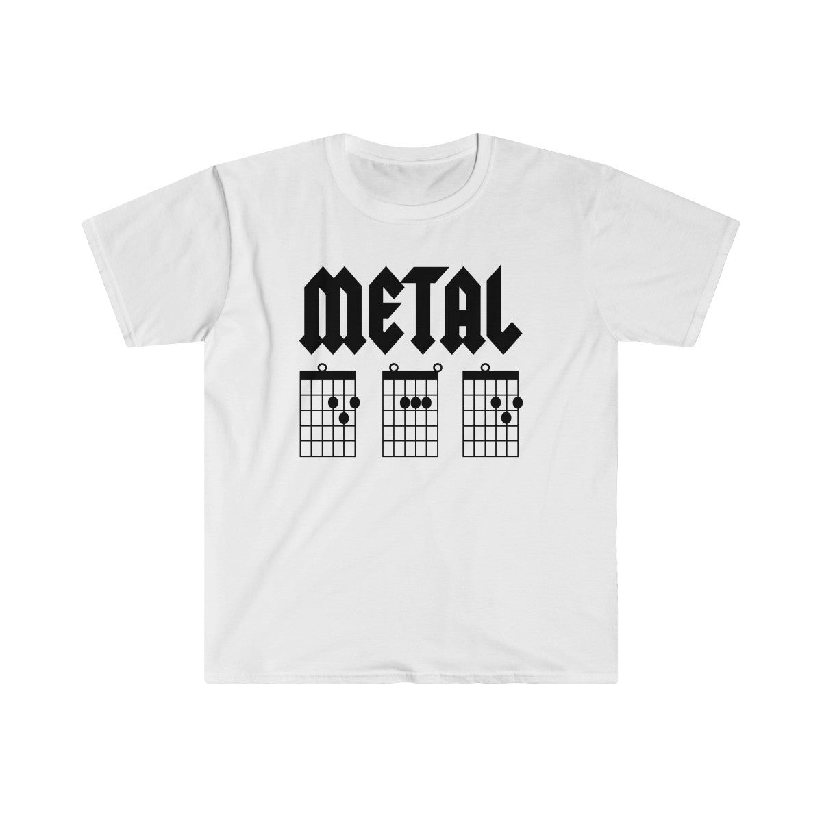 Metal DAD Guitar Chords T-Shirt