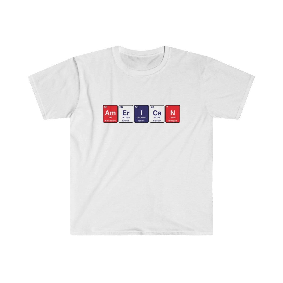 American Periodic Table Elements T-Shirt