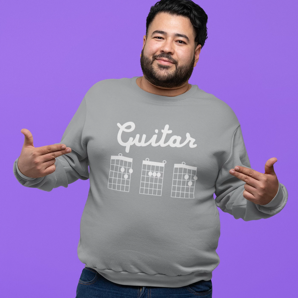 Guitar DAD Chord Tab Sweatshirt