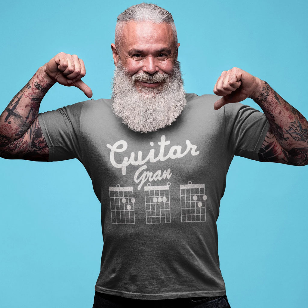 Guitar GranDAD Chords T-Shirt