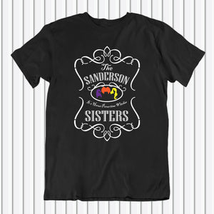 Sanderson Sisters It's Hocus Pocus Time Witches Shirt | Unisex T-Shirt