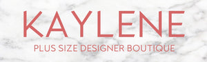 Kaylene Plus Size Designer Boutique