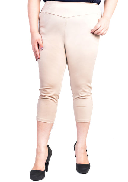 3/4 Classic Pants (Black/Dark Blue/Beige)