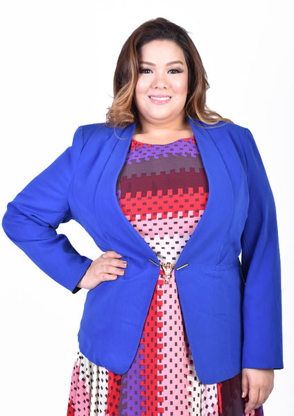 Royal Blue Formal Blazer