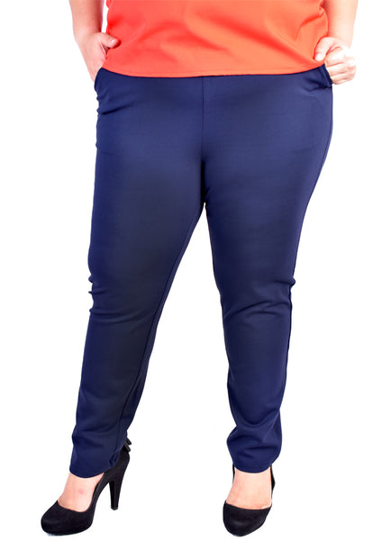 Classic Long Pants (Black/Dark Blue)