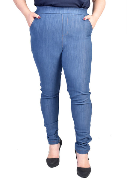 Skinny Jeans (Grey/Light Blue)
