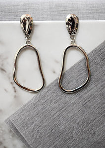Abstract Loop Earrings