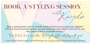 Book a Styling Session with Kayde!
