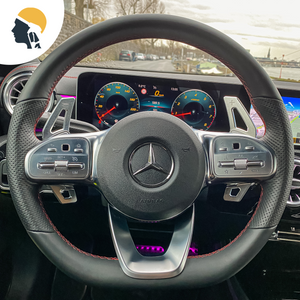 MB AMG Lovers Aluminium Paddle Shifter Extension for Mercedes AMG Line - PetrolHeadsWorld