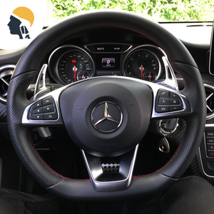 AMGenetics Aluminium Steering Wheel Paddle Shifter Extension for AMG Line - PetrolHeadsWorld