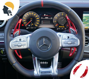 Aluminium Steering Wheel Paddle Shifter Extension for AMG - PetrolHeadsWorld