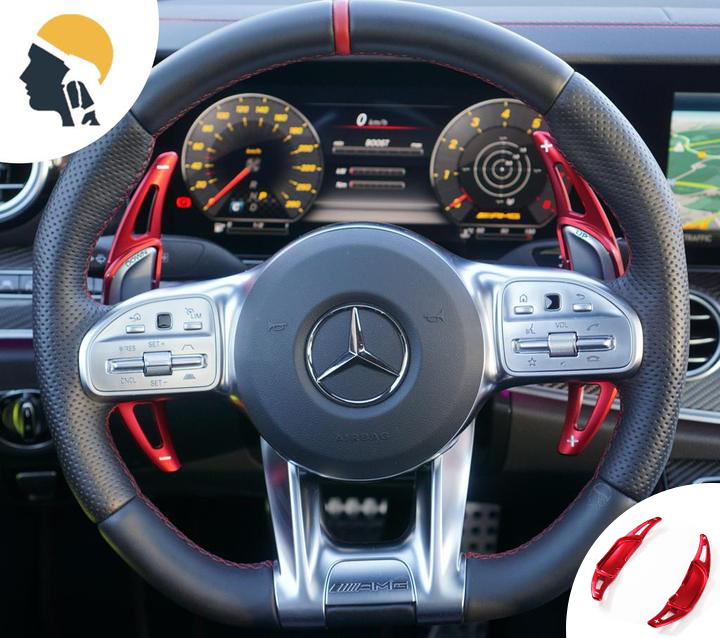 MB AMG Lovers Aluminium Paddle Shifter Extension for Mercedes AMG - PetrolHeadsWorld