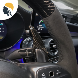 Carbon Fiber Steering Wheel Paddle Shifter Extension for AMG - PetrolHeadsWorld