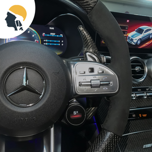 AMG Crew Carbon Fiber Paddle Shifter Extension for AMG - PetrolHeadsWorld