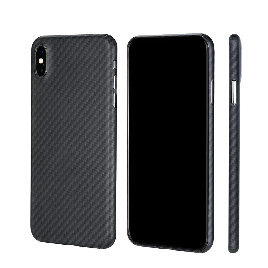 Slim Matte Real Carbon Fiber Phone Case for Apple iPhone - PetrolHeadsWorld