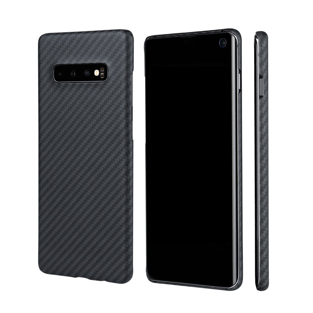 Slim Matte Real Carbon Fiber Phone Case for Samsung - PetrolHeadsWorld
