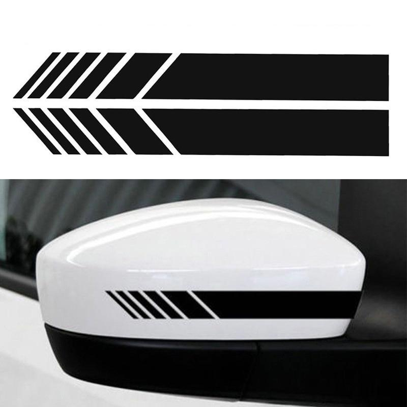 Car Rearview Mirror Side Vinyl Sticker Stripe - PetrolHeadsWorld