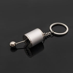 Car Keychain Gear Shift Knob - PetrolHeadsWorld