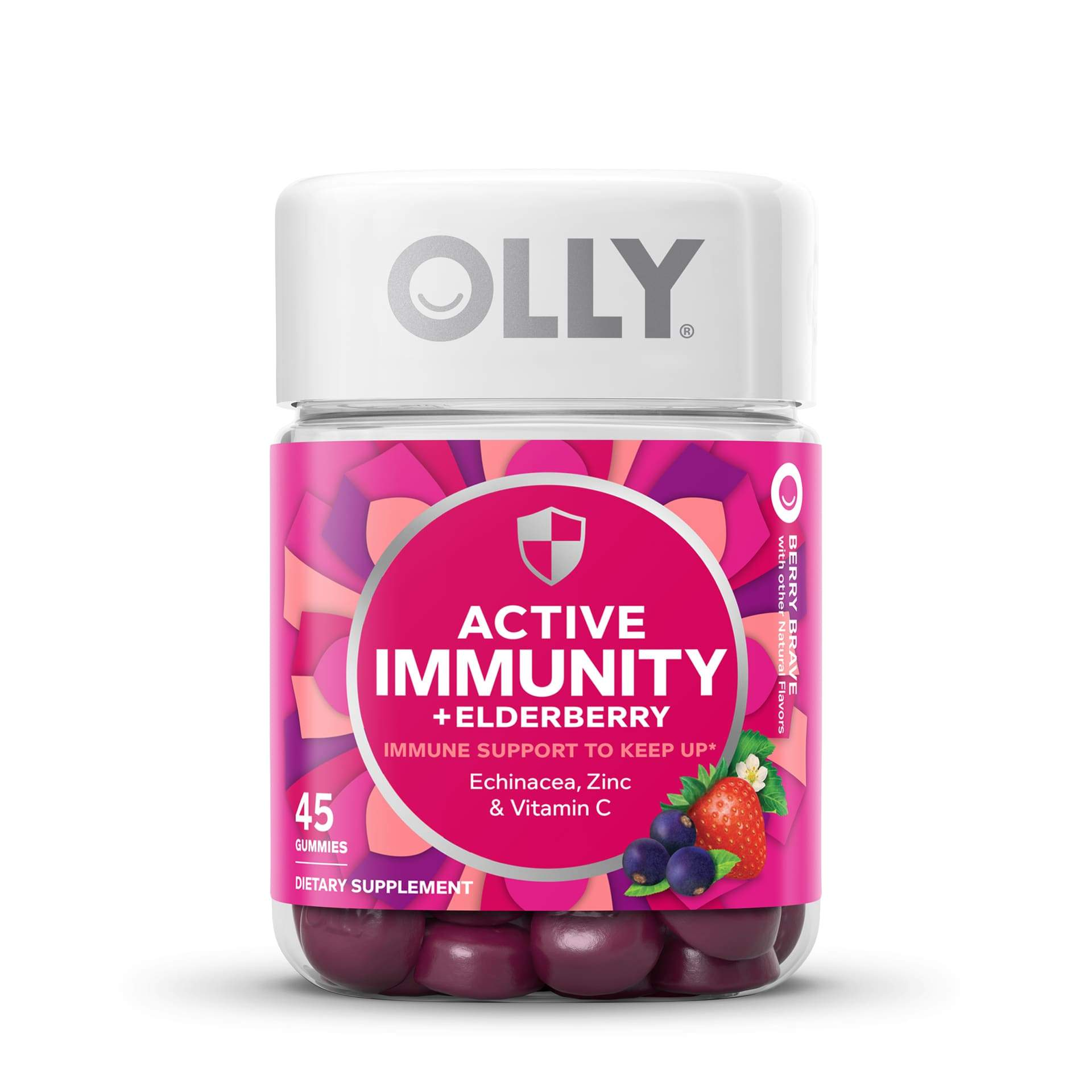 Active Immunity Berry Brave Front Zoomed