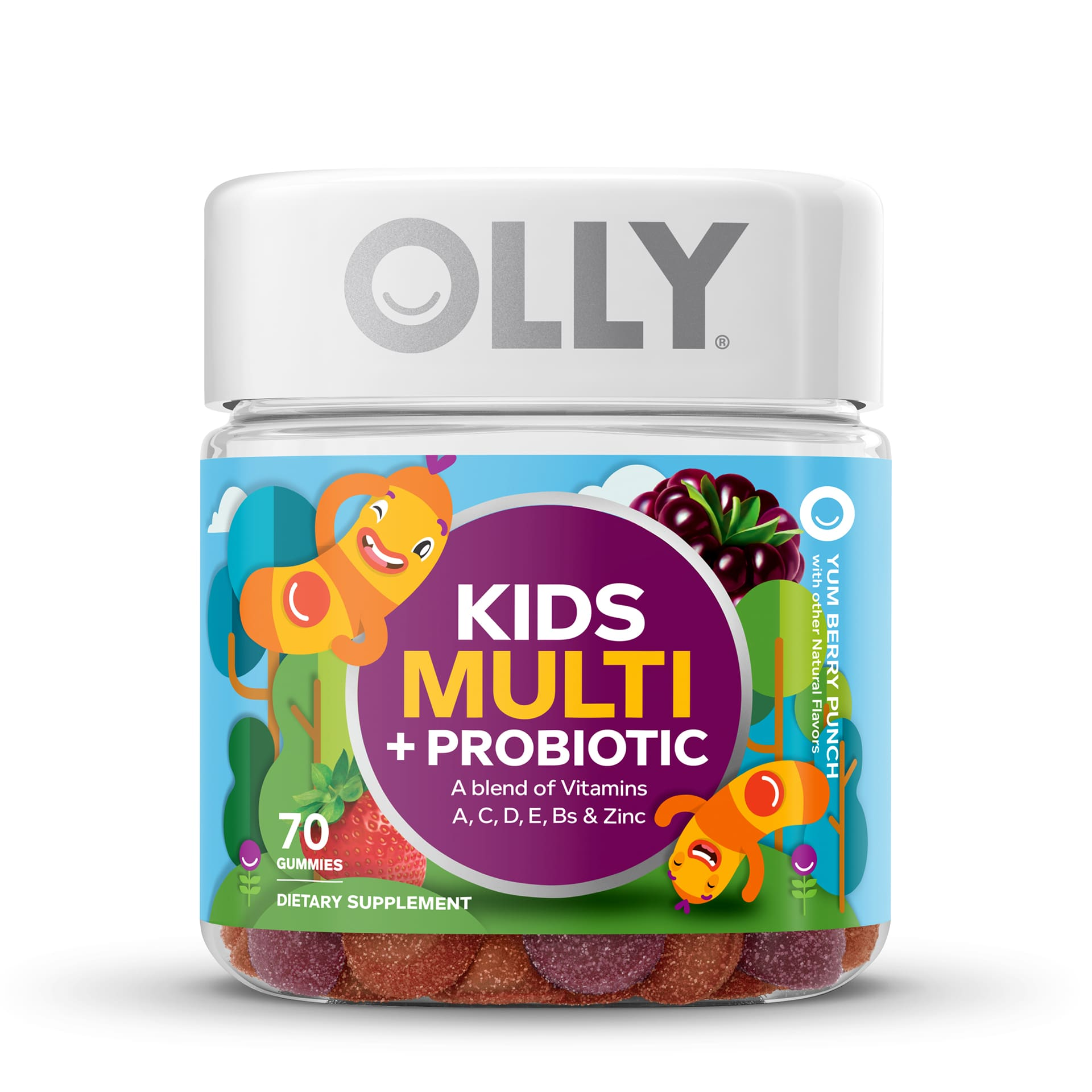 Kids Multi + Probiotic Front Zoomed