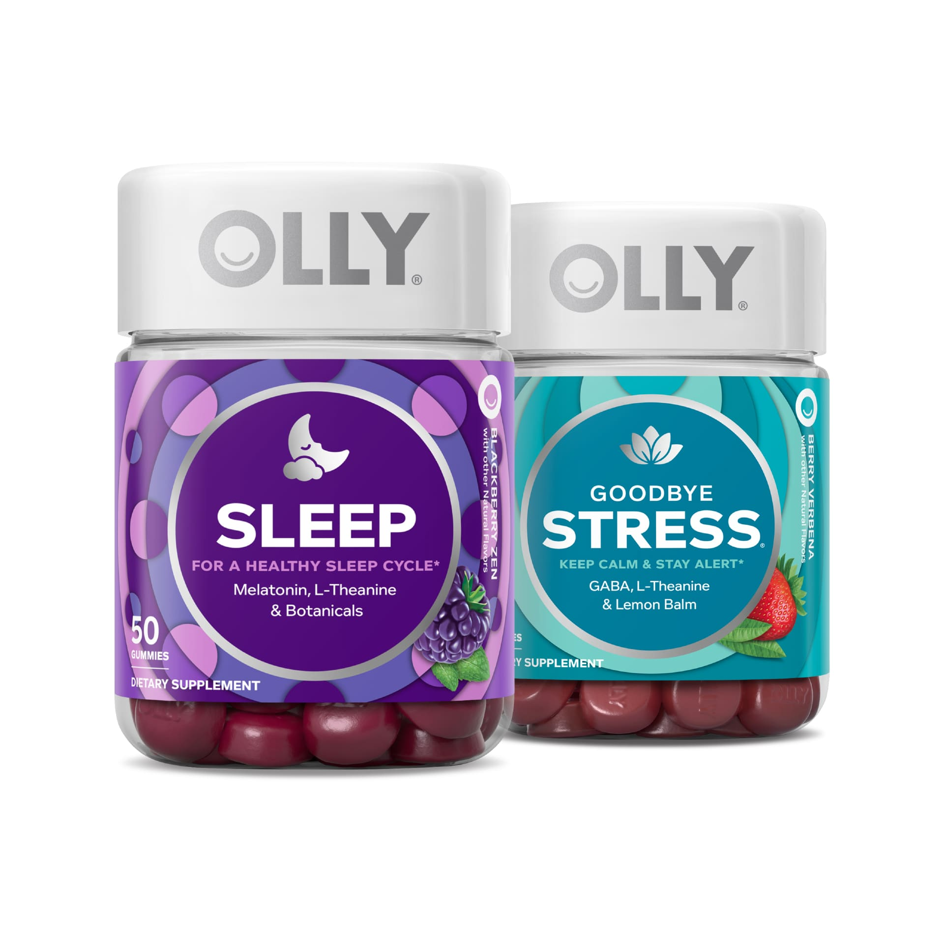 OLLY Rest & Destress Duo Pack