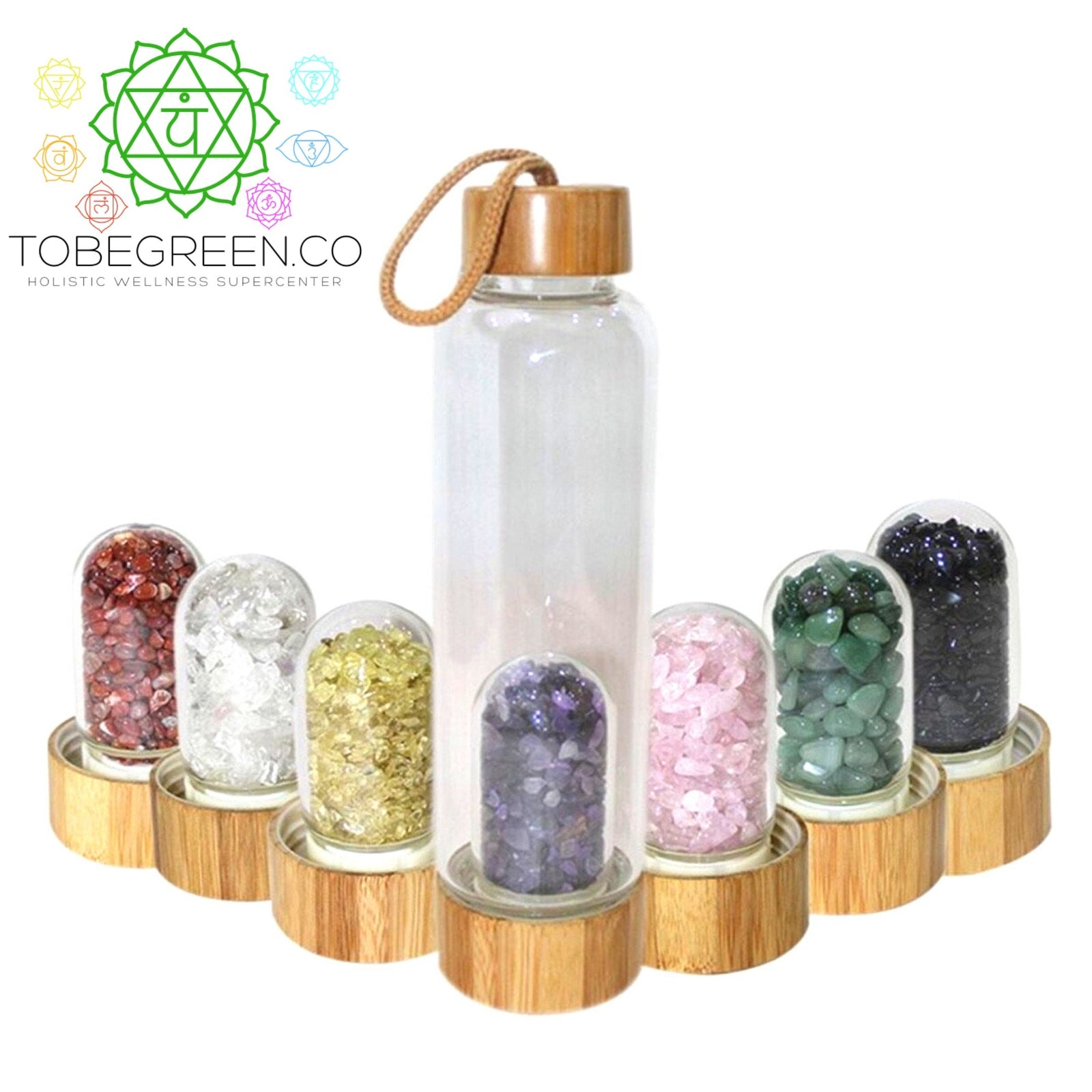 Gemstone Water Bottle