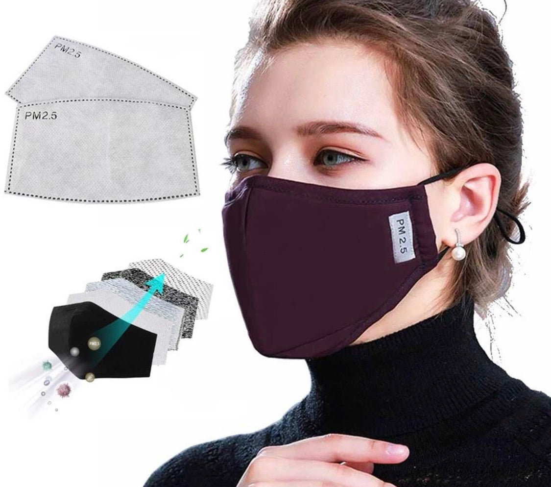 Activated Carbon Face Mask