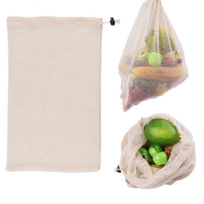 Organic Cotton Reusable Mesh Bag