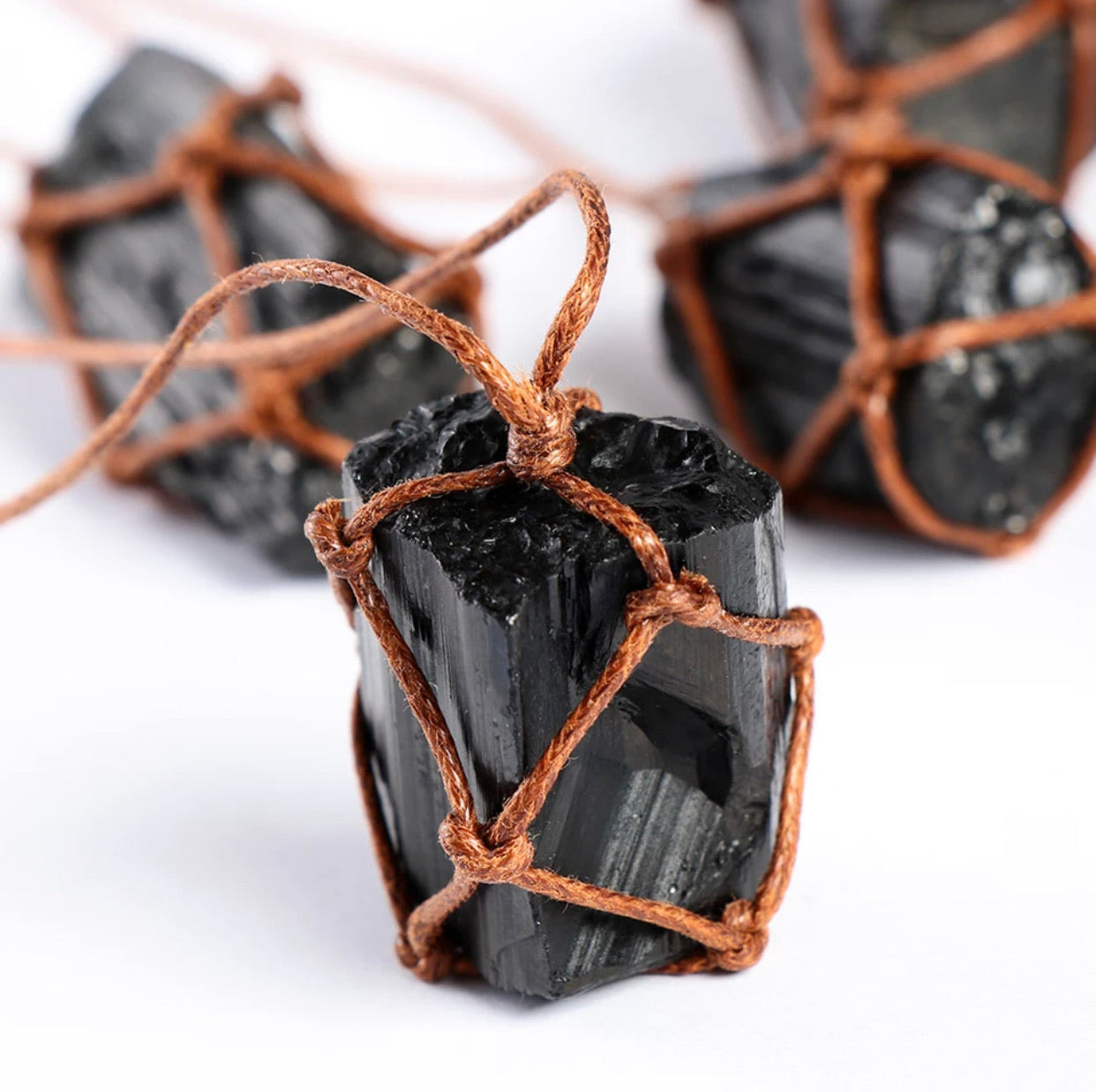 Black Tourmaline EMF Protection Necklace