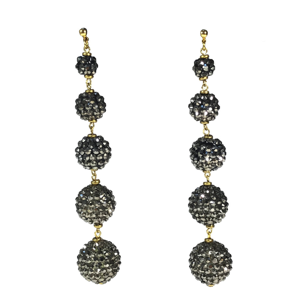 Cascading Sphere Earrings