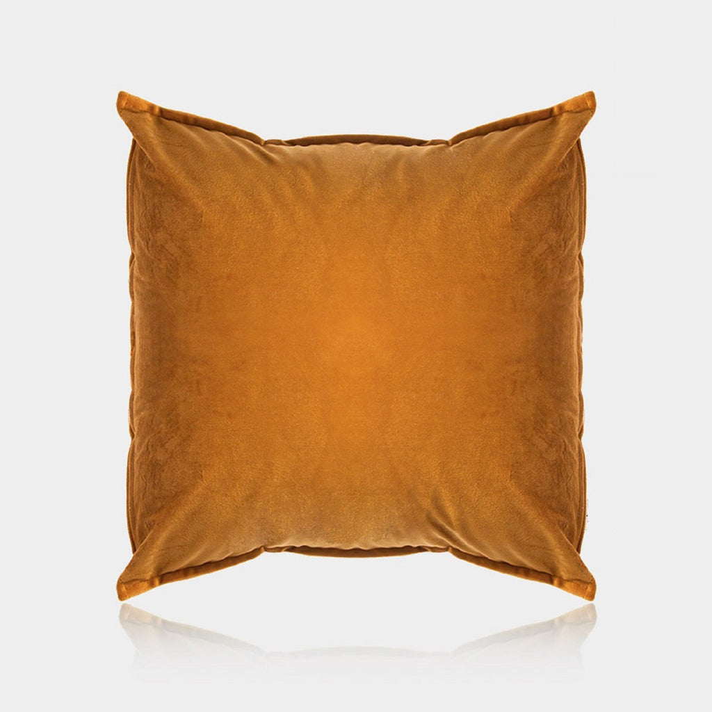 Velvet Brown Pillow Cover